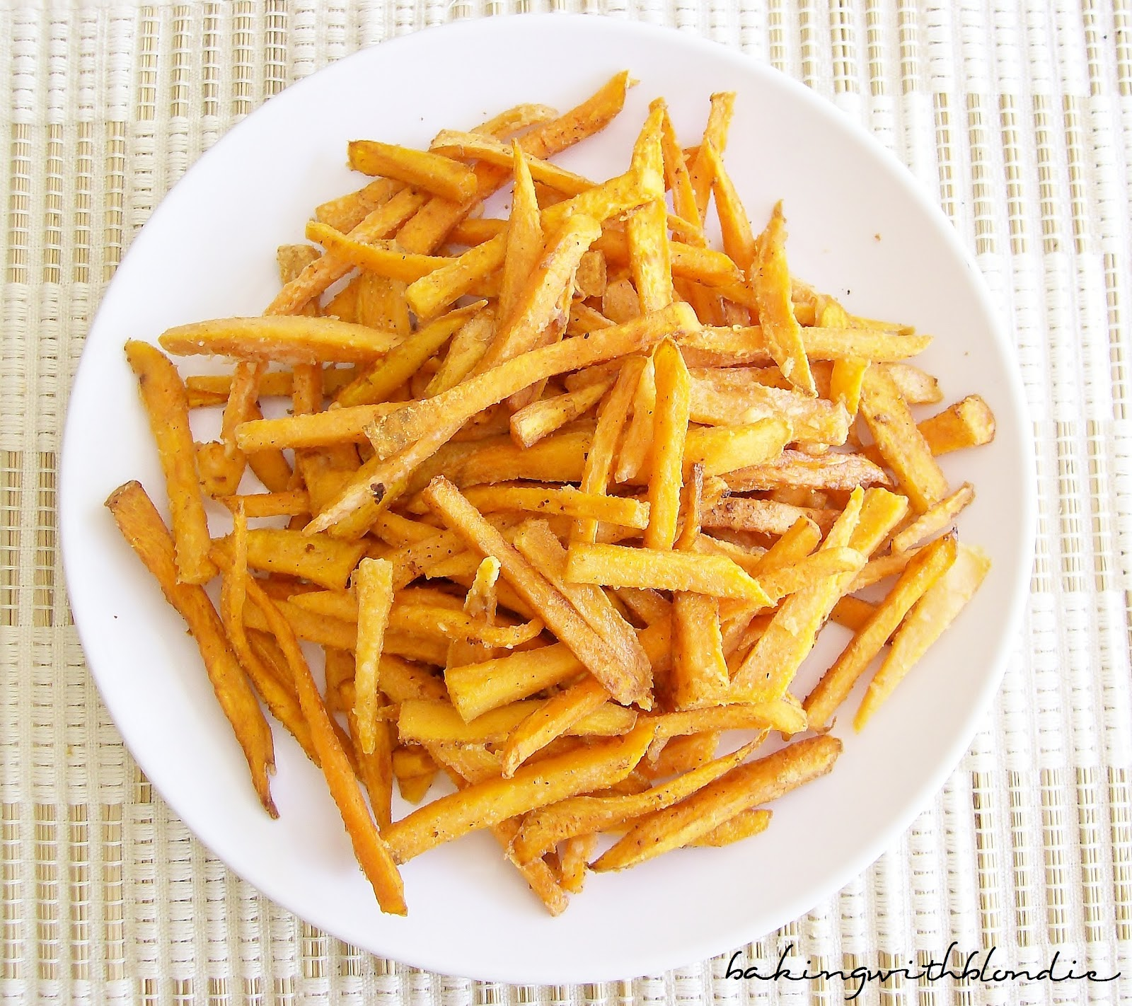 how to make the best sweet potato fries