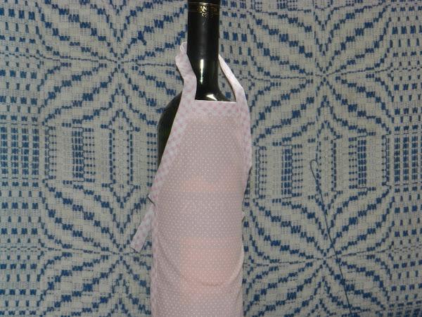 avental para garrafas