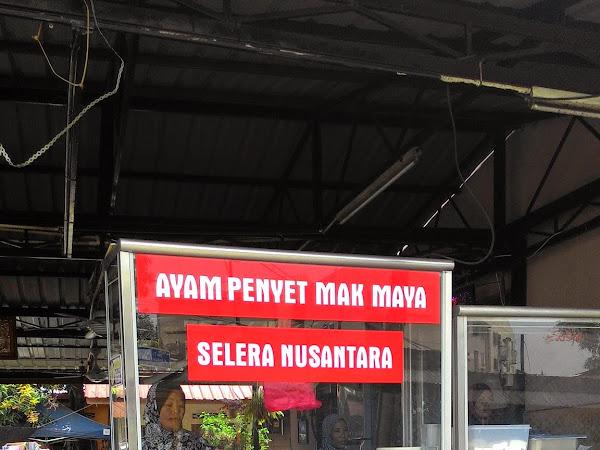 Nasi Ayam Penyet Mak Maya,Kg. Baru,Kuala Lumpur.