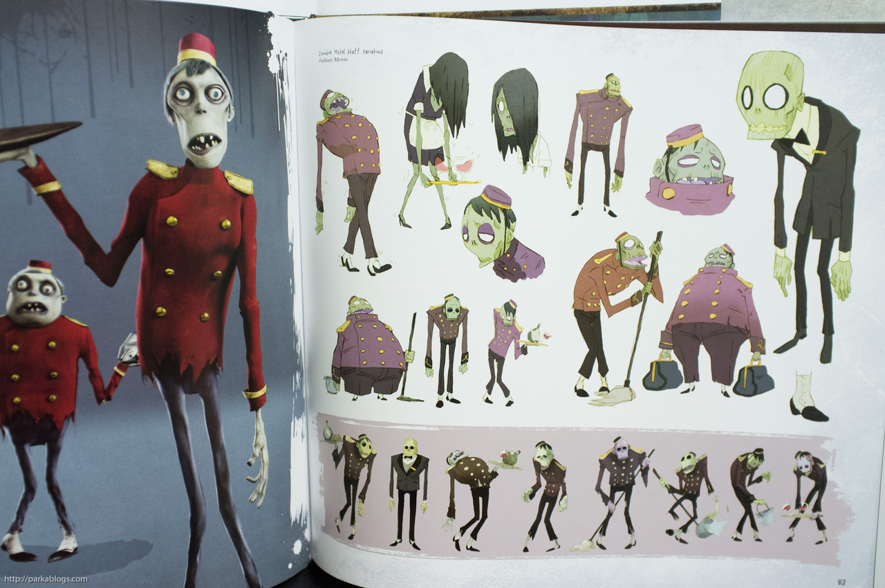 Character Design Novel : Living lines library hotel transylvania