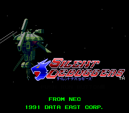 Silent Debuggers title screen