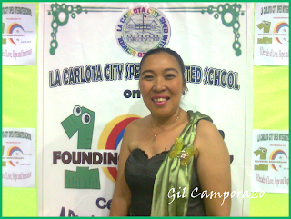 Ms. E. Gilo, hearing impaired teacher