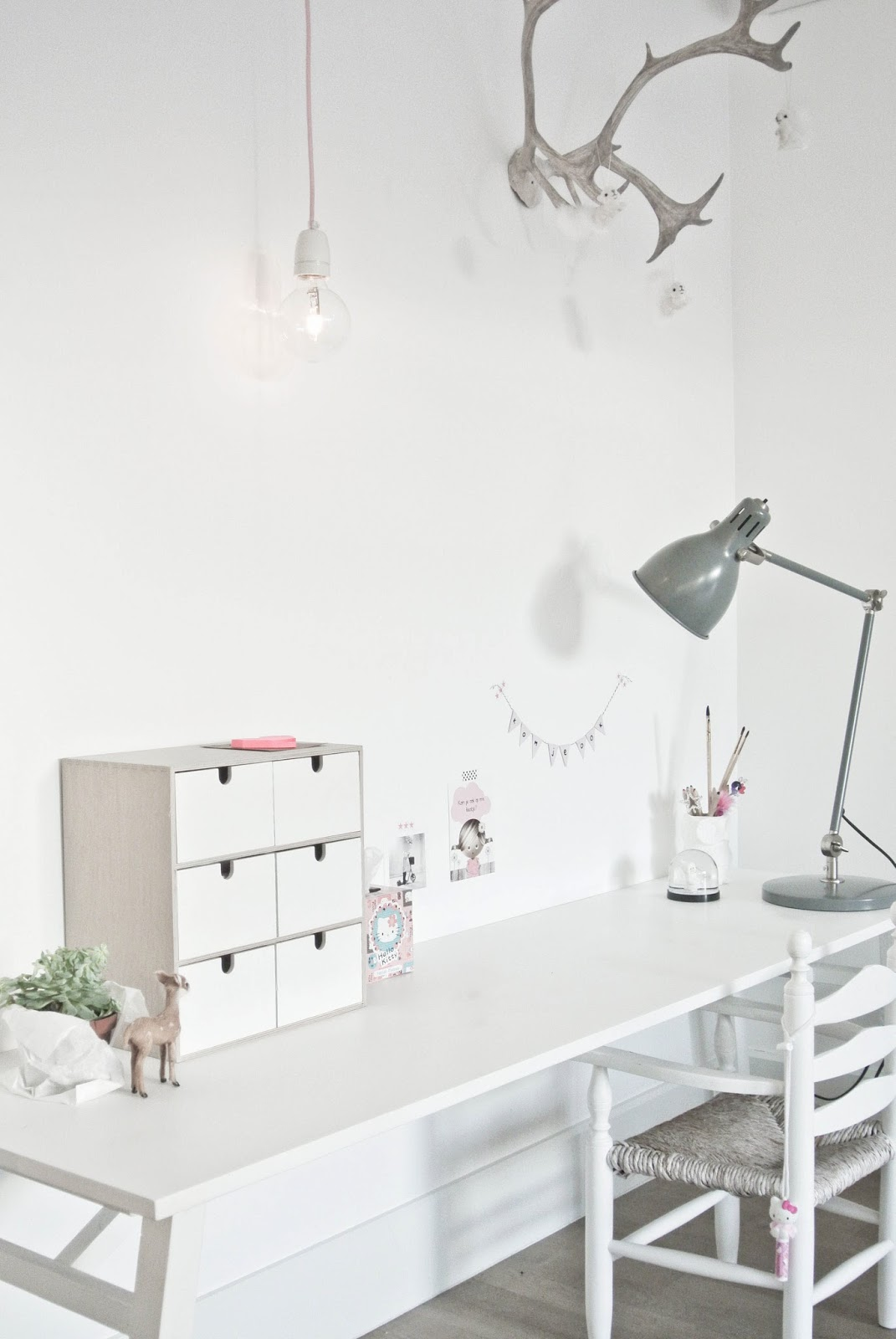 Lekker Fris: DIY lamp woonkamer