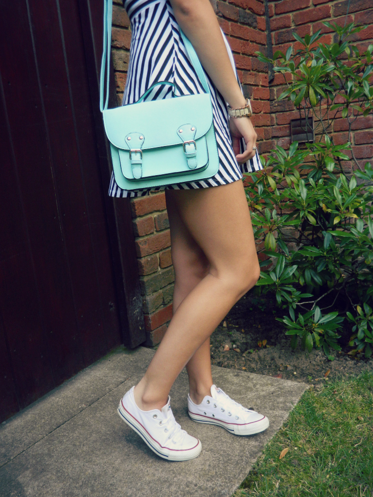 Love From Lisa Primark Mint Pastel Satchel