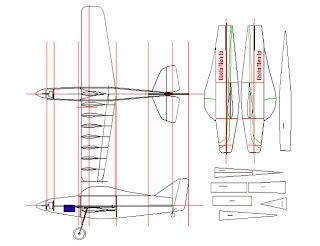 新作トレーナー機 図面