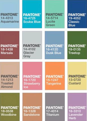 Pantone Spring 2015