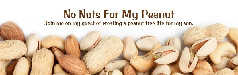 No Nuts For My Peanut