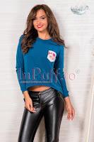 Bluza de dama tricotata turquoise (Escape)