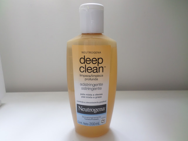Tônico Adstringênte Deep Clean Neutrogena