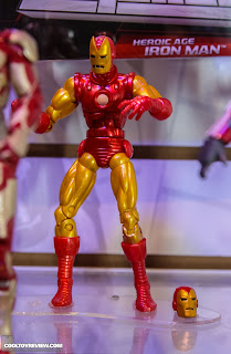 Hasbro 2013 Toy Fair Display Pictures - Iron Man Marvel Legends - Classic Iron Man