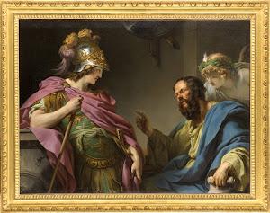 Socrates y Alcibiades