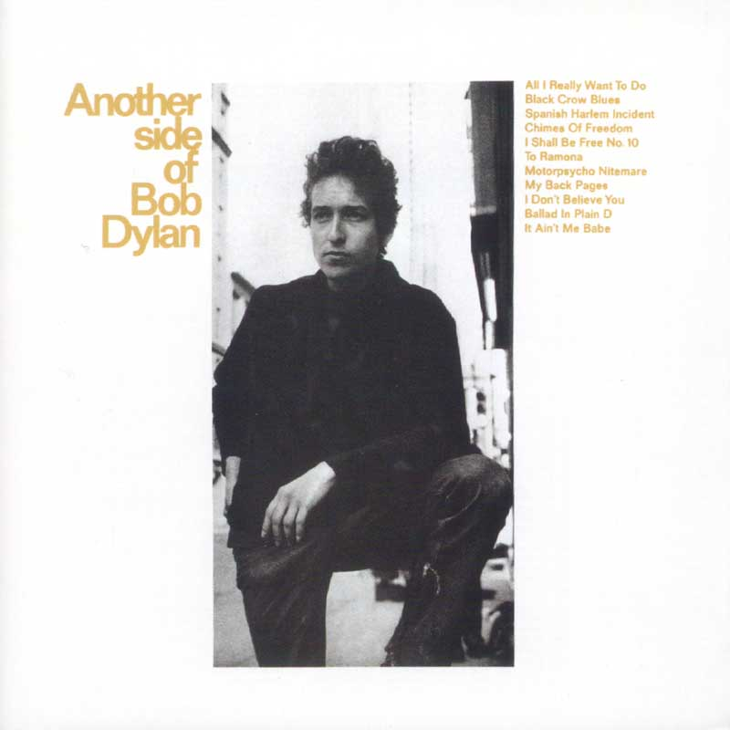 Bob Dylan - Another Side of Bob Dylan album cover