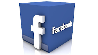 3D Facebook Logo Cube HD Desktop Wallpaper