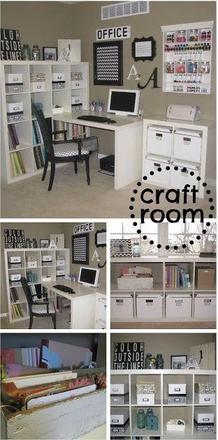 Craft Room Makeover
