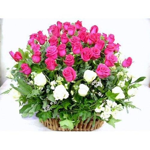 Giỏ hoa 20-11 đẹp