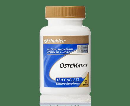 Ostematrix Shaklee adalah sumber kalsium kita