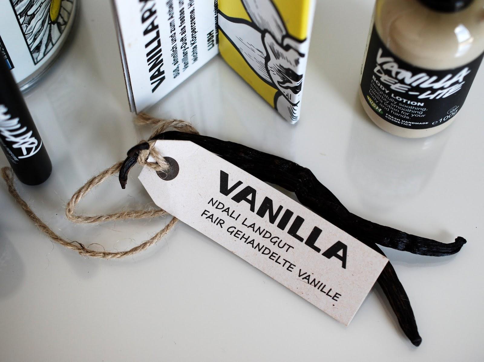 Ndali Landgut Fair Trade Vanilleschoten Lush Vanillary