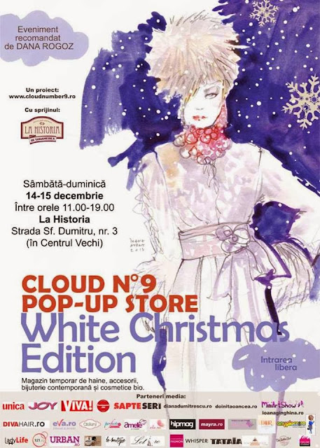 cloud no.9 white christmas edition fashion bucuresti cafea design targ