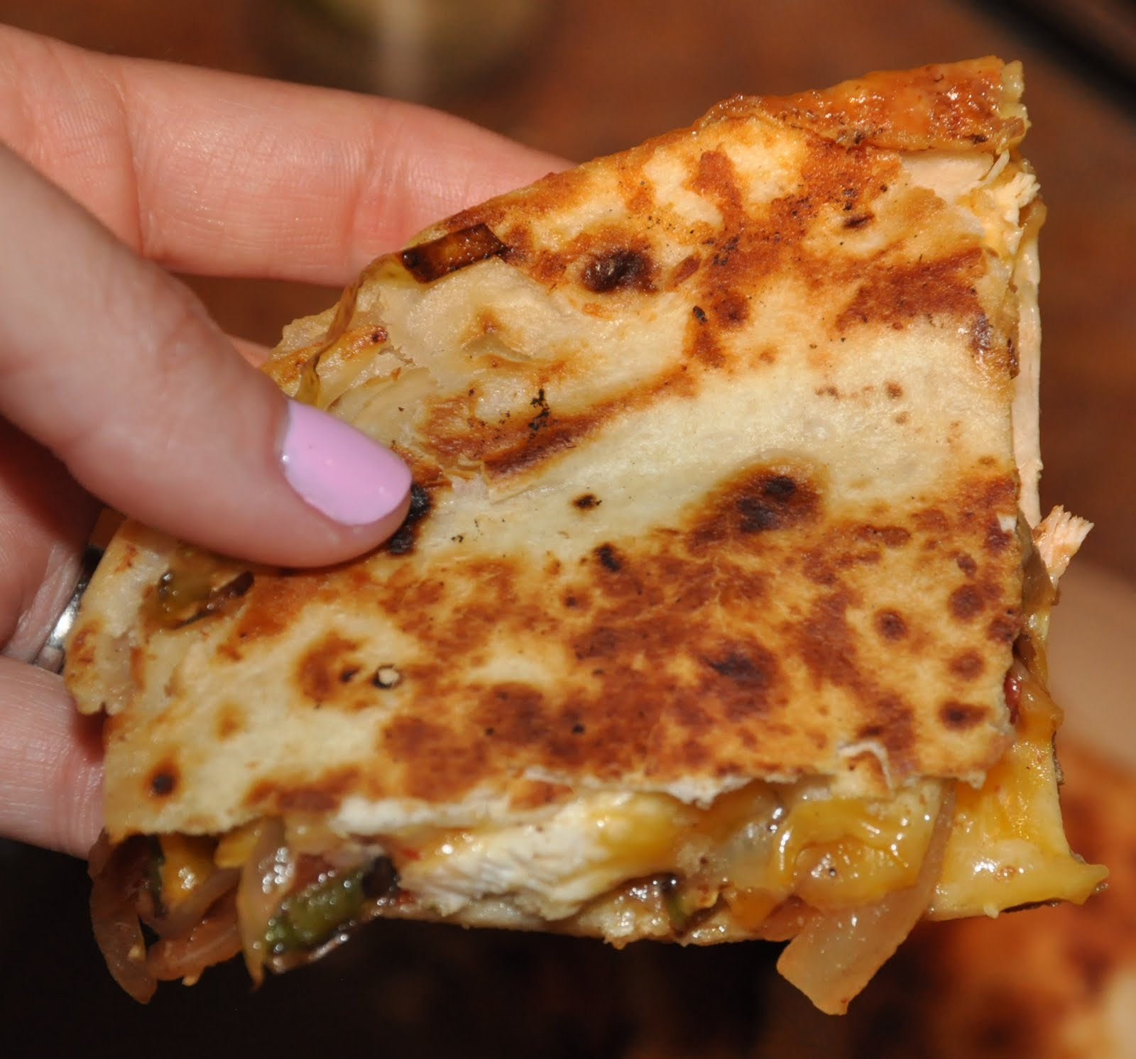 being lovely easy quesadillas