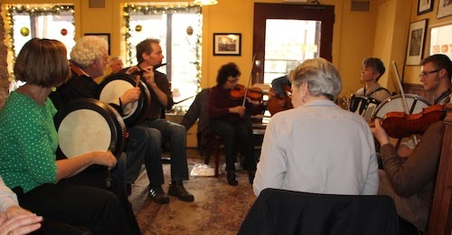 Irish Music Seisiun - Frenchtown - River Blue Cafe