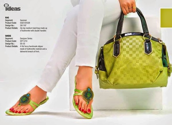 Gul Ahmad Accessories Footwear Bags 2014