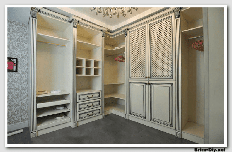 Walk in closet dise os modernos ideas para decorar y for Modelos de closet para habitaciones en cemento