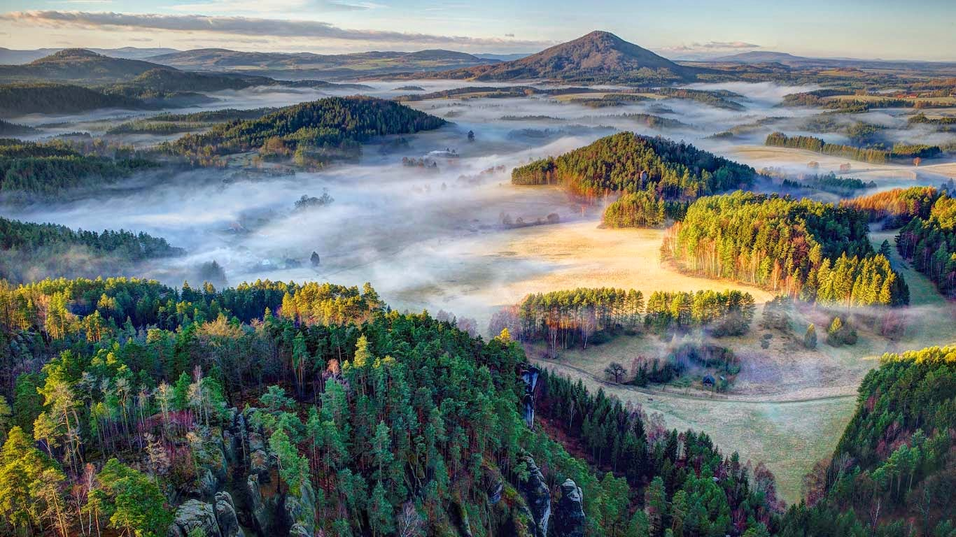 Bohemian Switzerland National Park, Czech Republic (© Filip Molcan/500px) 229