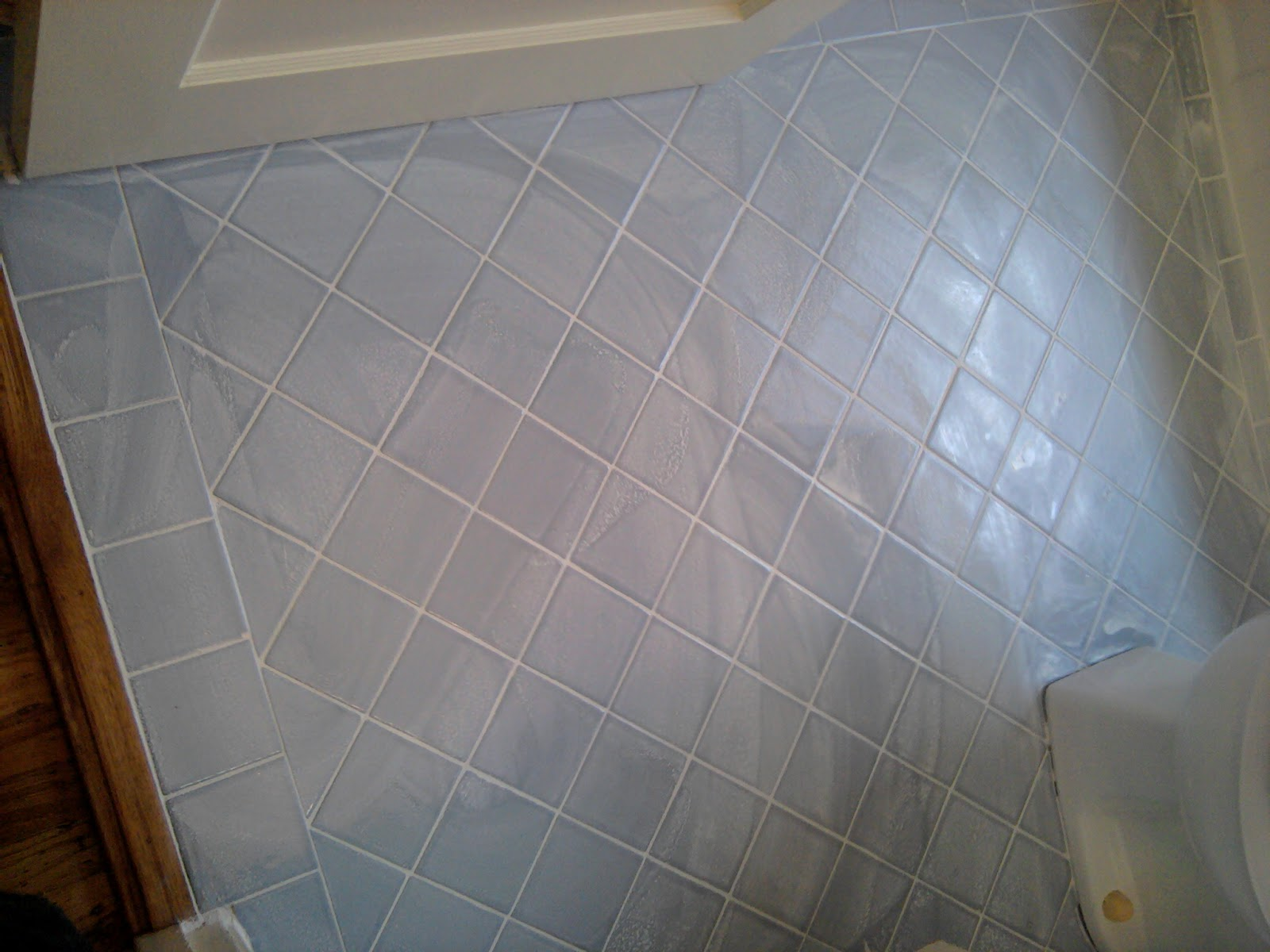 Regrout bathroom tile