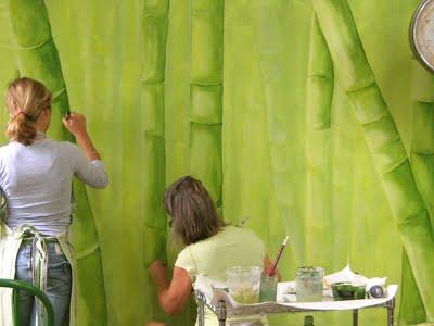 Bamboo Mural5