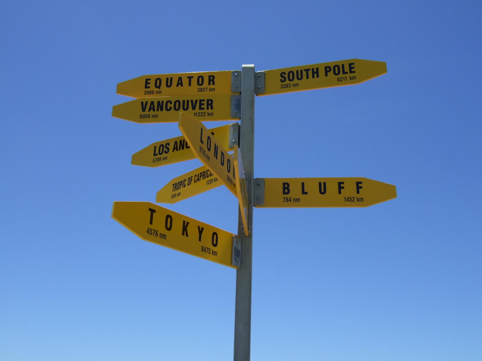 標識,看板,レインガ岬,NZ〈著作権フリー無料画像〉Free Stock Photos