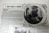 Artículo de como se hacen los chorizos en Candelario