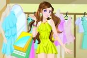 Winx Kızı Alışverişte Oyunu