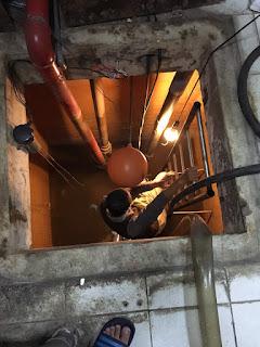 大樓抽水馬達燒掉水管斷裂處理