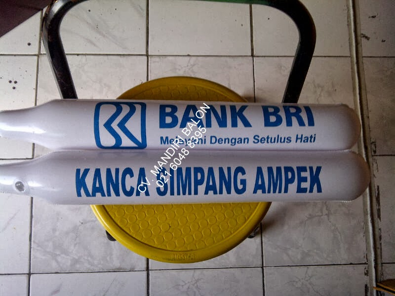 BALON SUPPORTER BANK BRI KANCA SIMPANG AMPEK