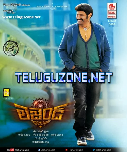 Legend Songs [2014] Telugu Mp3 Songs [Full Songs Updated]