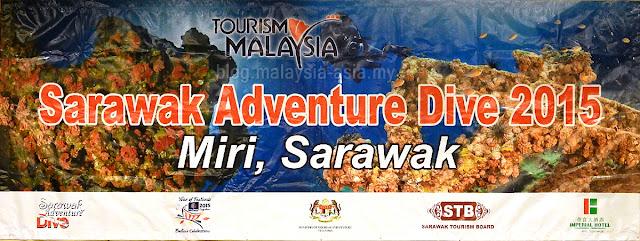 Sarawak Adventure Dive 2015 Miri