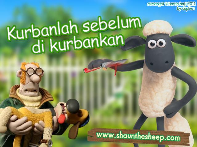 Foto/ Wallpaper Idul Adha: Shaun The Sheep