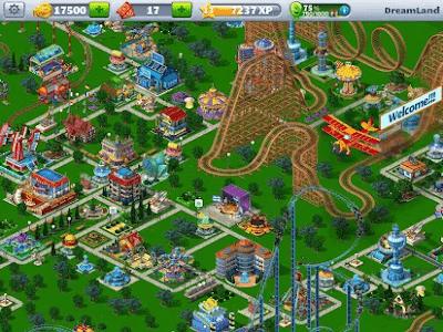 RollerCoaster Tycoon 4 mod apk