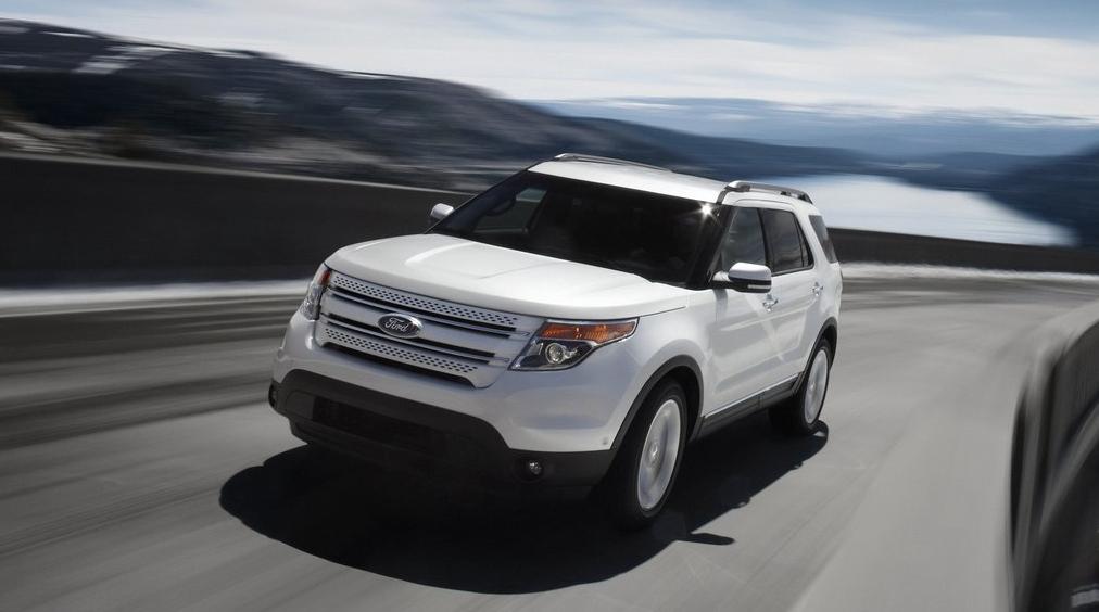 2011 Ford Explorer white