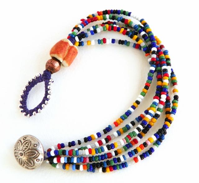 erin siegel jewelry vintage seed bead bracelets