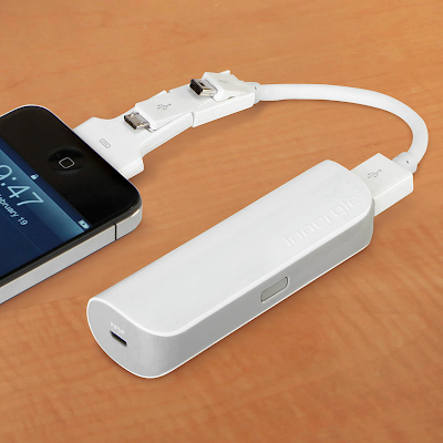 Cordless Pocket iPhone And USB Charger with iPhone