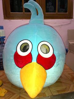 blue bird - karakter angry bird
