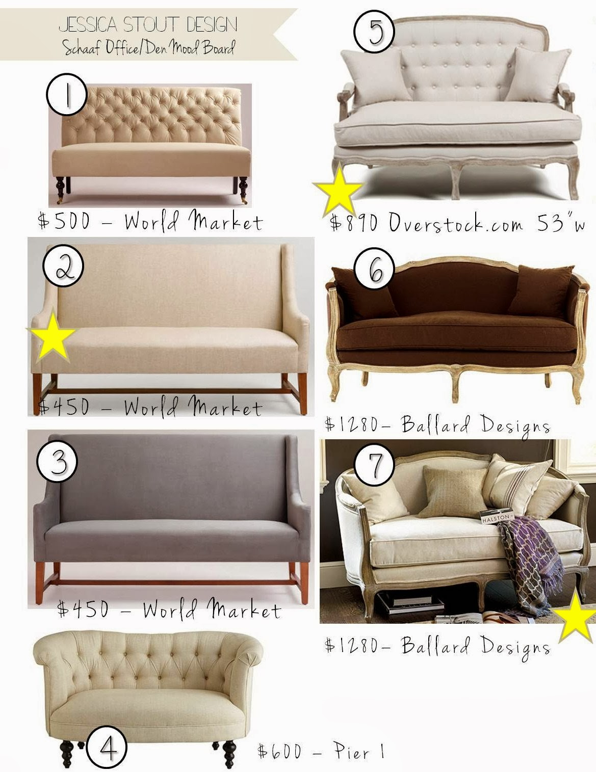 A Seating Area With A Settee, Or 2 Accent Chairs With A Table In Between.  We All Agreed, The Settee Option Would Be Best For The Room.