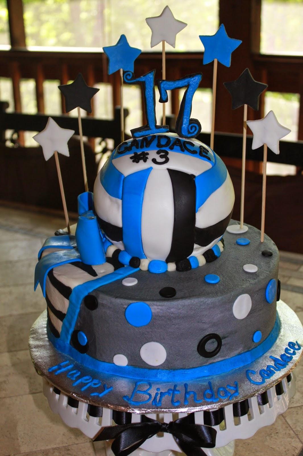 Designs By Lamuir Volleyball Birthday Cake Anyone