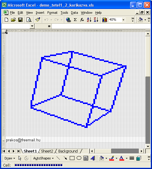 Drawing Lines Through Cells Excel : Excel spreadsheets help as a d graphics game engine