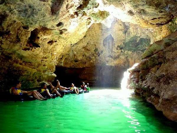 Tourism cave Pindul Gunungkidul Yogyakarta