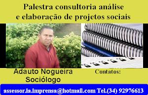 PALESTRA CONSULTORIA ANÁLISE  E ELABORAÇÃO DE PROJETOS SOCIAIS