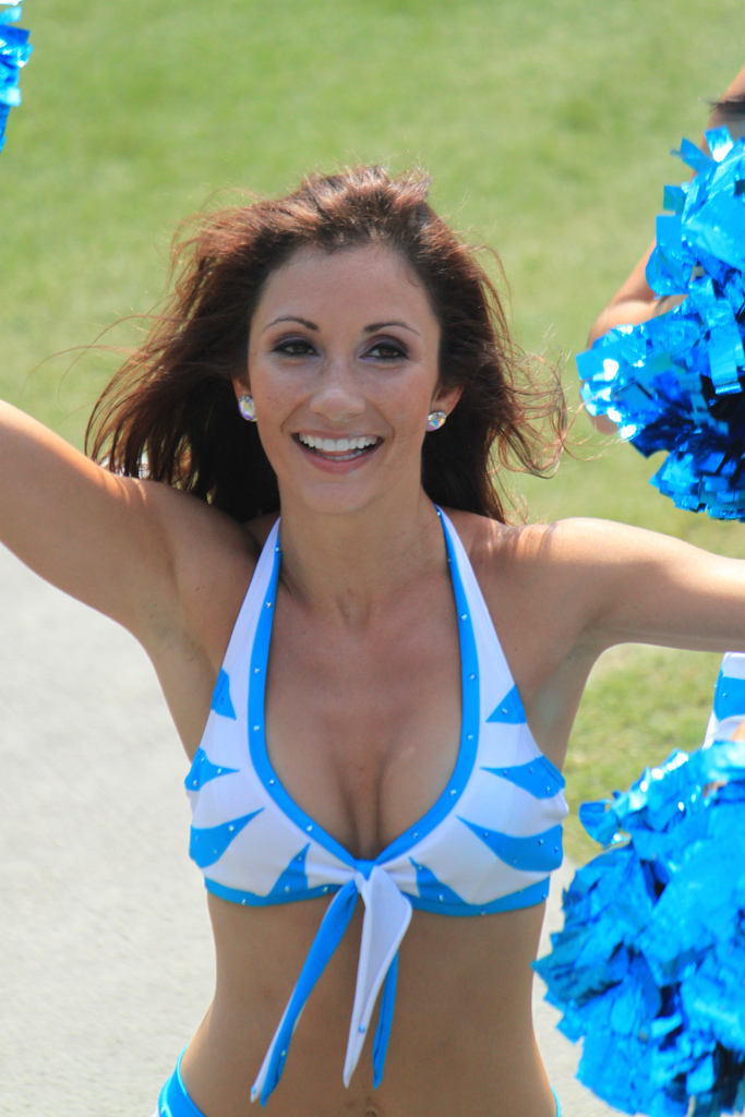 milf with cheerleader
