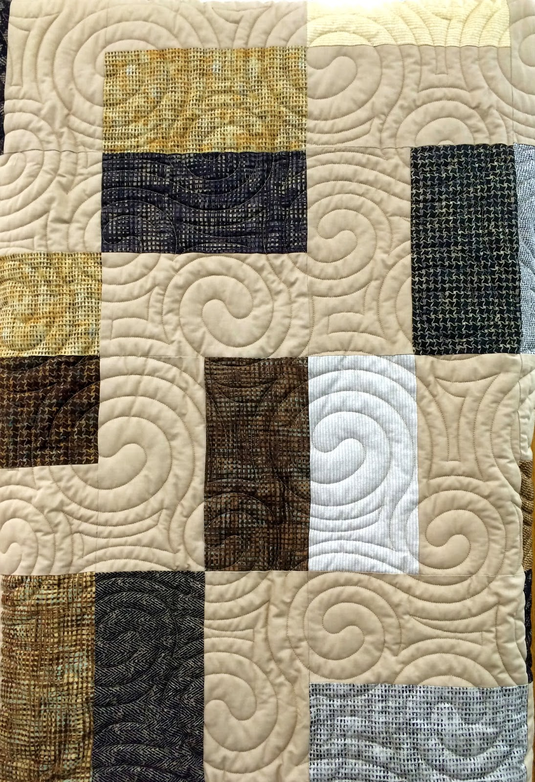 Man Cave Quilt Pattern : The bear man cave quilt