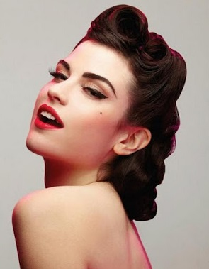 5 peinados vintage para pelo corto o rizado Ella Hoy - Peinados Vintage Cabello Corto